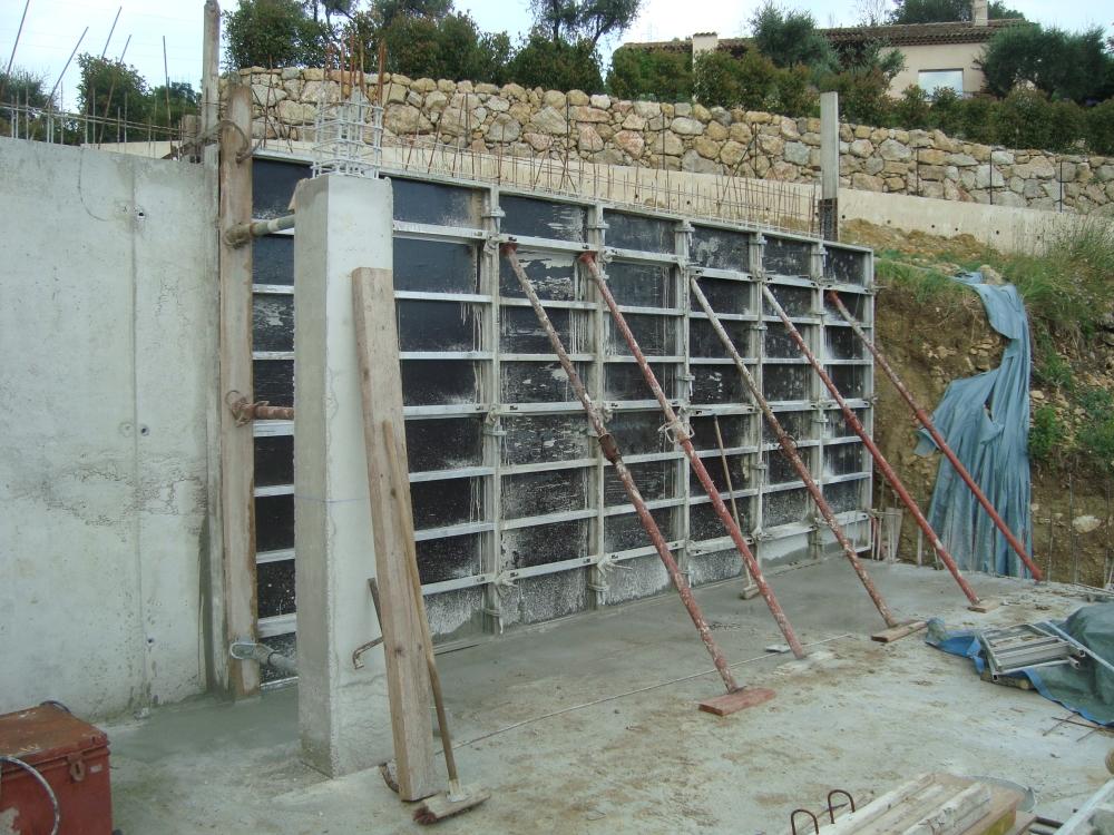 D but de semaine 26 notre maison passive chateauneuf - R mur maison passive ...